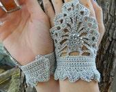 Steampunk fingerless gloves