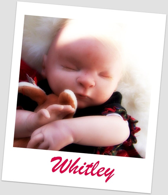 OOAK Reborn Baby Doll - Beautiful baby girl Whitley