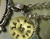 Personalized Custom Stamped Metal Charm