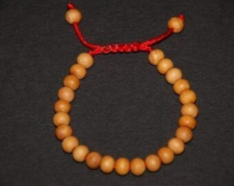 Tibetan Sandal Wood Wrist Mala/ Bracelet for meditation