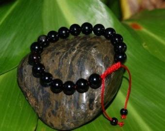 Carnelian wrist mala/ bracelet for meditation