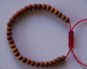 Small Tibetan Sandalwood Wrist Mala/ Bracelet for meditation 5.5mm