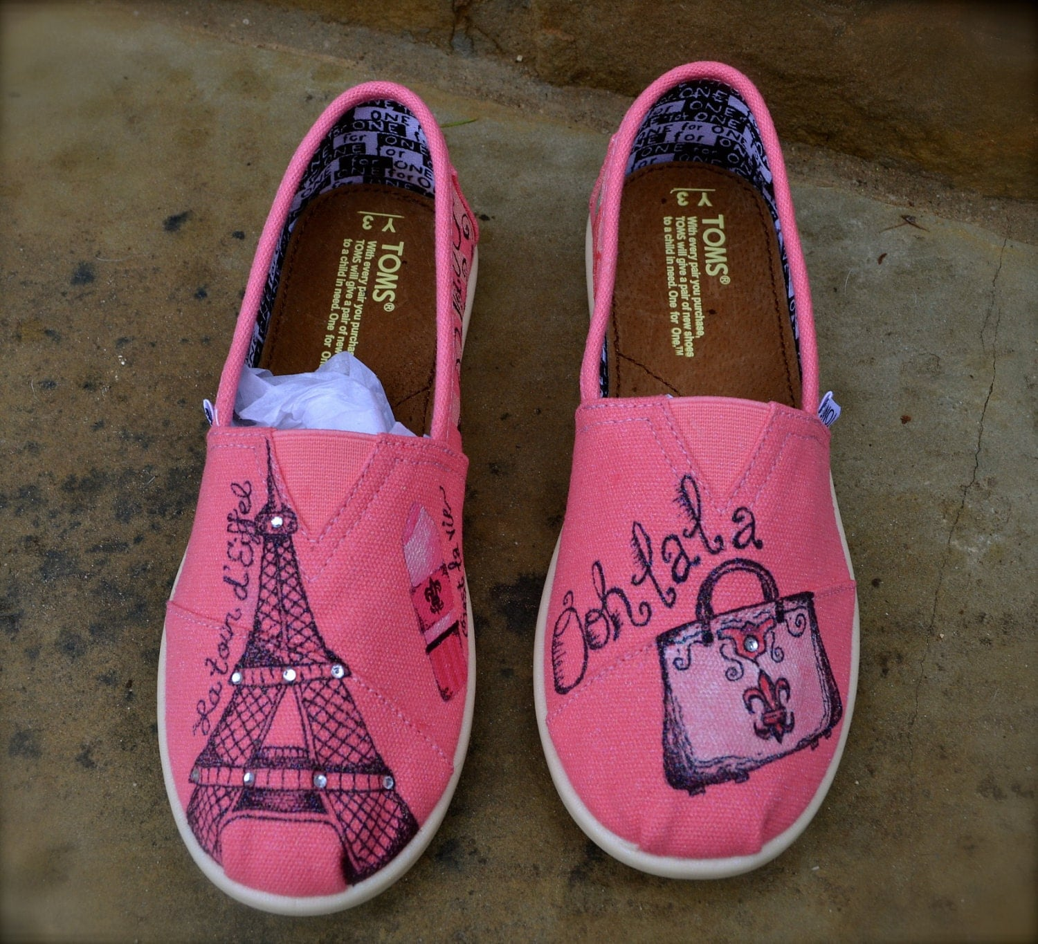 custom toms shoes in youth theme by artisticsoles on