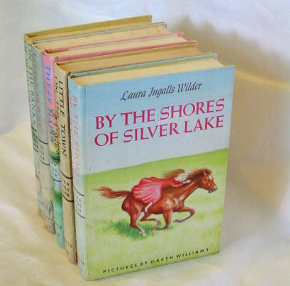 1953 By the Shores of SILVER LAKE Laura Ingalls Wilder Girls Adventure Story, Famous Classic Kid Lit Book, HC Edition, Garth Williams