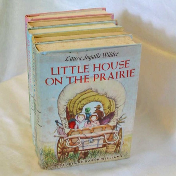 1953 LITTLE HOUSE on the Prairie Laura Ingalls Wilder Girls Adventure Story, Famous Classic Book, Original HCDJ Edition, Garth Williams