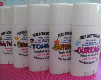 RAZZLEBERRY--All Natural Deodorant,Loads of Skin Lovin Oils and Butters--Made from Scratch--BIG 3 oz. size---New Best Seller
