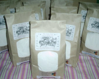 Natural VEGAN Friendly Laundry Soap -500 to 1000 Loads---4 Jumbo Bags---PLUS--2 FREE Bonus Bags---Over 3 1/2 years of Laundry Soap
