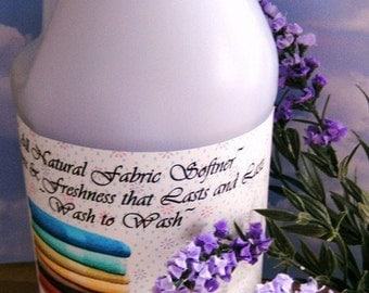 French Lilac and Lavender--All Natural Earth-friendly Clothing,Fabric and Linen Refresher---Wonderful--One and Only on Etsy--BIG Gallon Jug