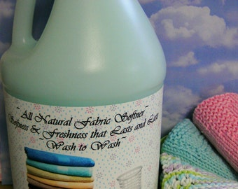 FRESH LINEN--All Natural Earth-friendly Clothing,Fabric and Linen Refresher---Wonderful--One and Only on Etsy--BIG Gallon Jug