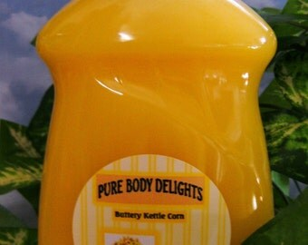 NEW Bigger Size --18 oz.--Buttery KETTLE CORN ---Natural Dish Soap---Made from Scratch---Smells soooo yummy