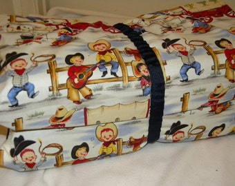Boys Kinder Mat Cover or Western Theme