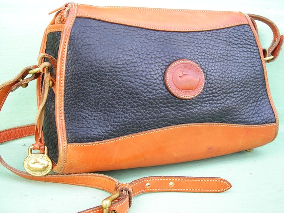 Vintage Dooney and Bourke, All Weather Leather, Cross Body Strap