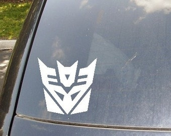 Decepticon Car Sticker
