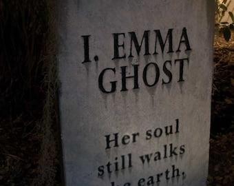 I. Emma Ghost - epitaph