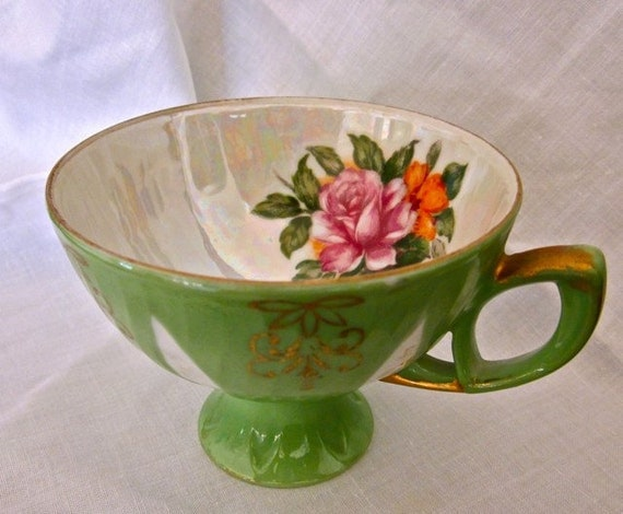 SALE roses china tea cup