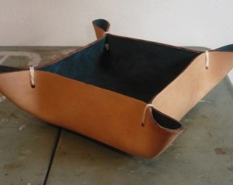 Leather Bowl- Everything Catch All