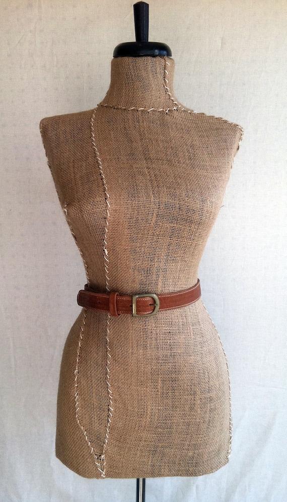 Leather Belt- Basic Brown