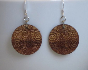 Lace Earrings - Grandmas Curtains - Small Standard Hooks