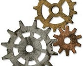 Sizzix Tim Holtz Bigz Die, Gadget Gears Die Cut Shape for Machines