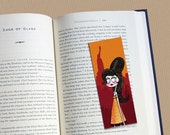 Amy Winehouse tribute illustrated bookmark (glossy finish)