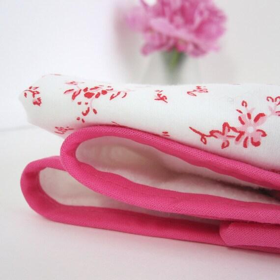 Cherry Blossom - Eco Friendly  Baby and Toddler Blanket - Nursery Basics, Swaddling Blanket, Receiving Blanket, Stroller Blanket