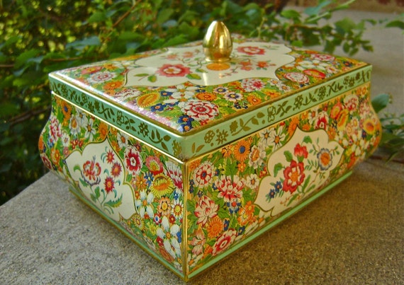 Vintage Candy Tin Made in Holland