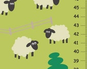Sheeps in pasture growth chart - Free personalization