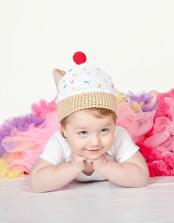 PDF Ice Cream Hat Pattern Crochet