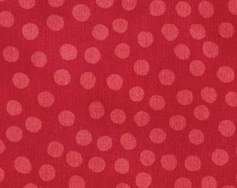 Moda Marble Dots--Red from Moda Fabrics