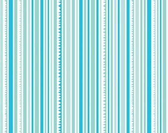 Sunny Happy Skies - Blue Sunny Stripe - by Bella Blvd. for Riley Blake Designs - Last Yard