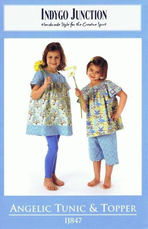Angelic Tunic and Topper Pattern from Indygo Junction