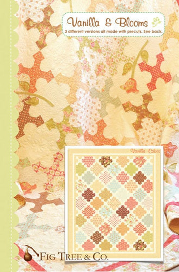 Vanilla and Blooms Quilt Pattern by Joanna Figueroa for Fig Tree Quilts