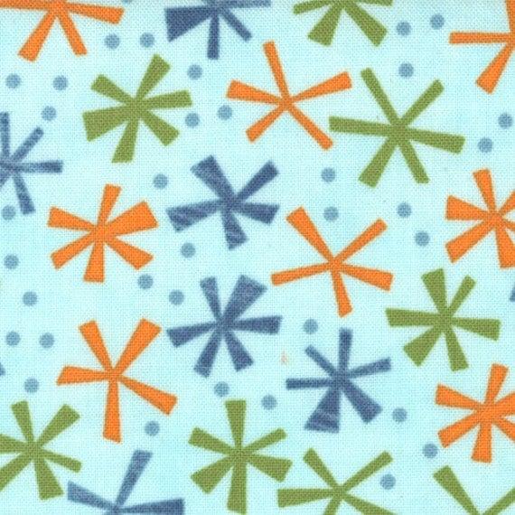 """Ten Little Things - Twinks in Aqua by Jenn Ski for Moda Fabrics - Last 33"""""""