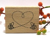 Bee in Love Stamps (Set of 3)