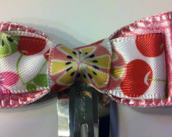 SALE- Cherry and flower bows