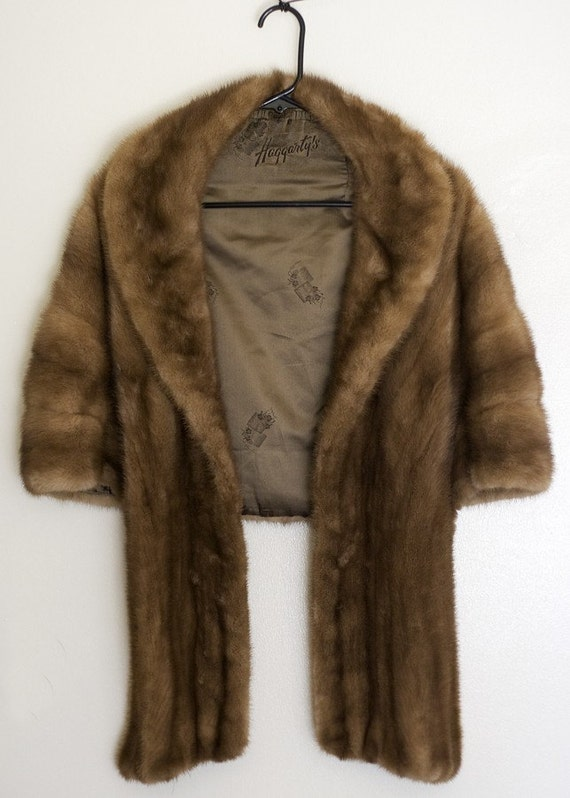 Haggarty's Umber Mink Stole