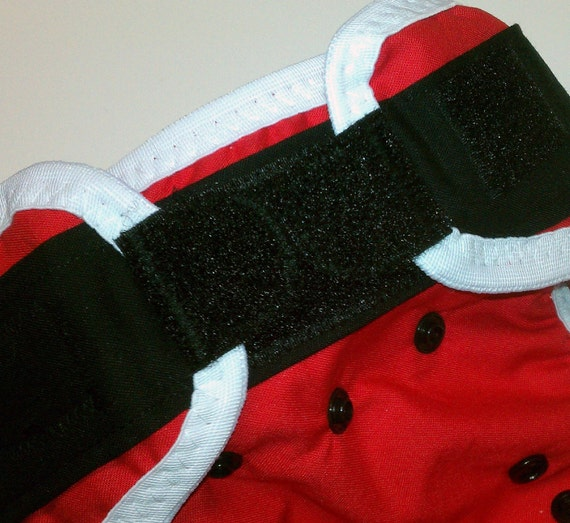 cloth diaper cover - ho ho ho -  S, M, L - custom made