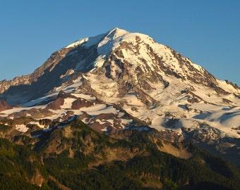 Mt. Rainier, Sunset, at Tolmie Peak, (6 sizes)