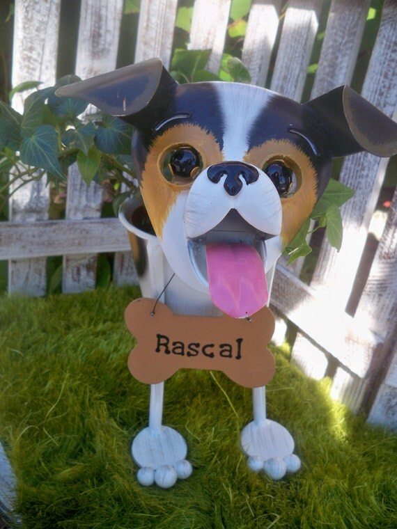 Christmas gift jack russell dog garden by ingridssecretgarden for Unique christmas gifts for dog lovers