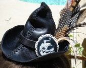 Mini Leather Witch Hat - Custom