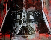 Star Wars Darth Vader - Art Print illustration - Geekery decor - size 8x10