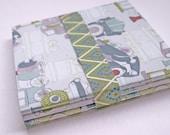 Small handmade notebooks, set of 3 -SALE-