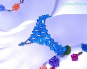 TUTORIAL - Embellished Crystal Bracelet, How to Guide, Step by Step Bracelet Making Instructions