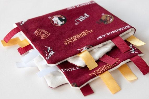 FSU Baby Seminole Lovey with tags