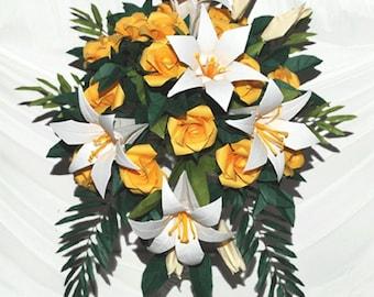 Origami Bridal Easter Shower Wedding Bouquet