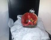 Fairy Treasure: Poppy Ornament