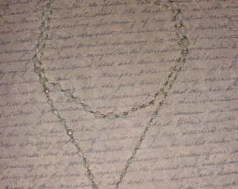 Vintage Antiqued Beaded Chain