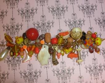 Recycled/Upcycled Oranges Bracelet