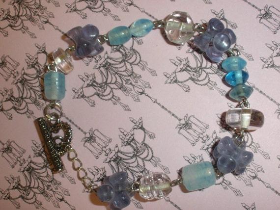 Perwinkle Beaded Bracelet