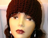 Three-In-One fashionable but chic crochet Head Warmer, Hair Band and Neck Warmer